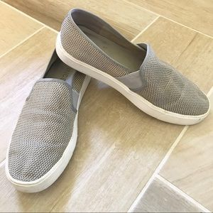 Vince Gray Slip on Sneakers Size 7.5